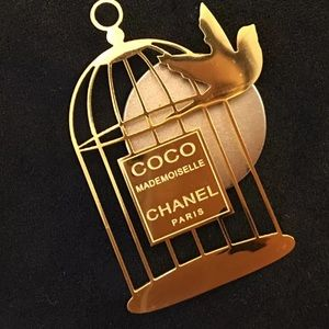 NEW CHANEL MADEMOISELLE PROMO BROOCH/PIN/BADGE